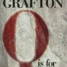 Q Is For Quarry by Sue Grafton (2002, Hardcover)
