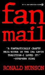 Fan Mail by Ronald Munson (1994, Paperback, Reprint)