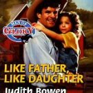 Like Father, Like Daughter by Sara Craven (1998, Pap...