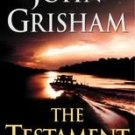 The Testament by John Grisham (2000, Paperback)