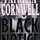 Black Notice by Patricia Cornwell (1999, Hardcover)