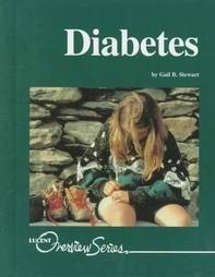 Diabetes by Gail Stewart (1999, Reinforced Hardcover)