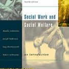 Social Work and Social Welfare With Infotrac by Guy ...