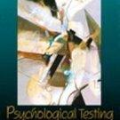 Psychological Testing by Robert J. Gregory (1999, Ha...