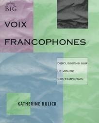 Voix Francophones by Katherine M. Kulick (1994, Pape...
