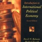 Introduction to International Political Economy by D...