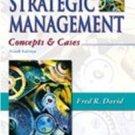 Strategic Management by Fred R. David (2003, Hardcov...