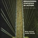 Behavioral Statistics in Action by Judith A. Vernoy,...