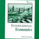 International Economics by James S. Hanson, Robert C...