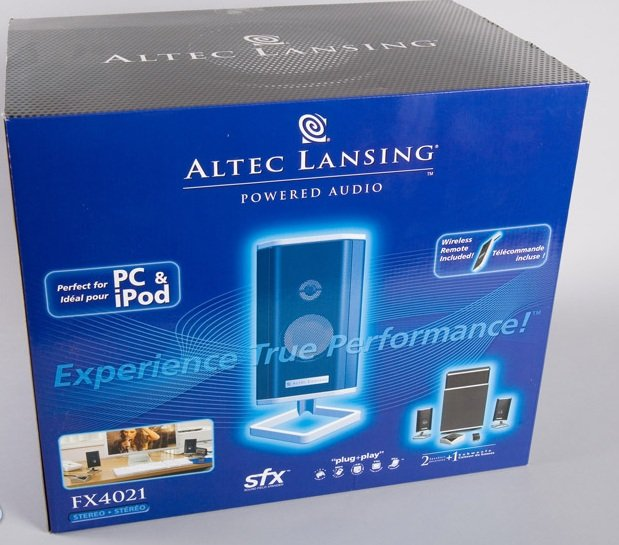Altec Lansing Speaker - Subwoofer Audio PC Theater