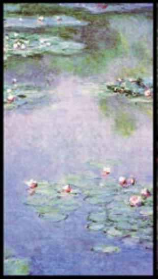 Monet Masterpiece Art Soap Bar Handcrafted USA