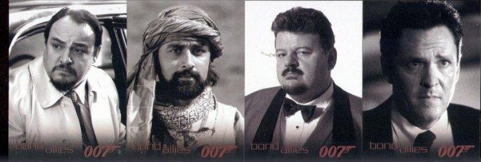 Bond 007 Dangerous Liaisons Allies BA14 BA15 BA71 BA18