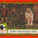 Robin Hood: Prince Of Thieves trading card #87 from 88-card set- Kevin Costner, Mary E. Mastrontonio