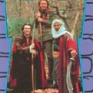 Robin Hood: Prince Of Thieves trading sticker #6 from 88card set- Kevin Costner, M Freeman, C Slater