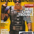 Entertainment Weekly magazine - issue #1036, February 27, 2009 - Watchmen Jeffrey Dean Morgan cover