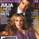 Entertainment Weekly magazine - issue #1039, March 20, 2009 - Clive Owen Julia Roberts cover