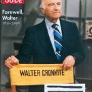 TV Guide magazine - double issue #2946/47, July 27, 2009 - Walter Cronkite cover