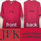 One-of-a-kind, hand-painted JFK T-shirt
