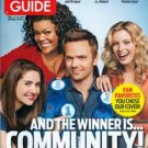 TV Guide magazine - double issue #3079/80, December 5, 2011 - Joel McHale Community cover