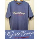 One-of-a-kind, hand-painted Wyatt Earp T-shirt