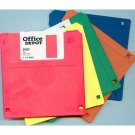 Office Depot brand 1.44MB-capacity 2HD floppy diskettes, 24, assorted colors, + one BASF