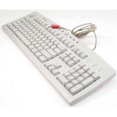 Hewlett Packard HP one-touch keyboard with cable