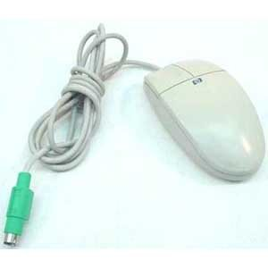 Hewlett Packard HP PS/2 two-button mouse with cable