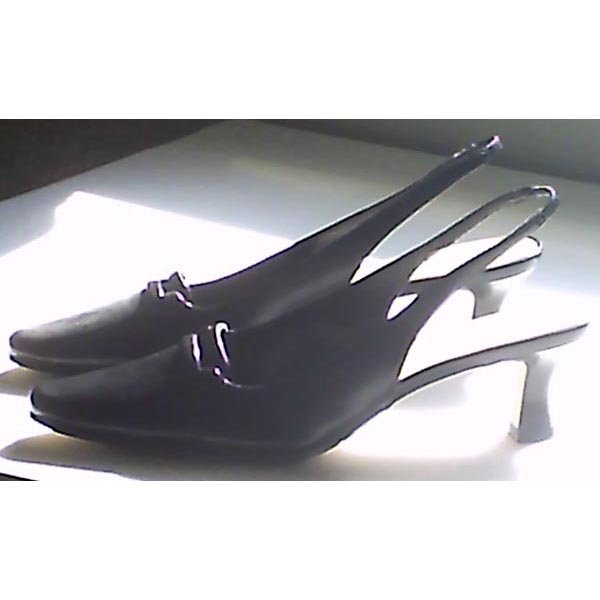 "Shoes - black sling-back - ""Heather"" by Fabulaire - size 8.5 M - new"