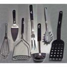 Mixed lot of cooking / serving utensils - 7 pieces in all