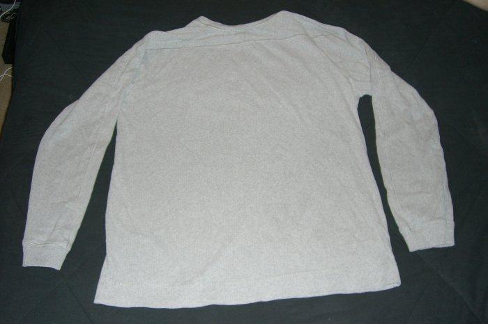 Mens High Sierra Long sleeve JERSEY shirt GREY