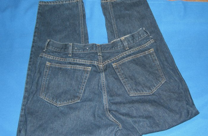 Women's Lands End Blue Jeans