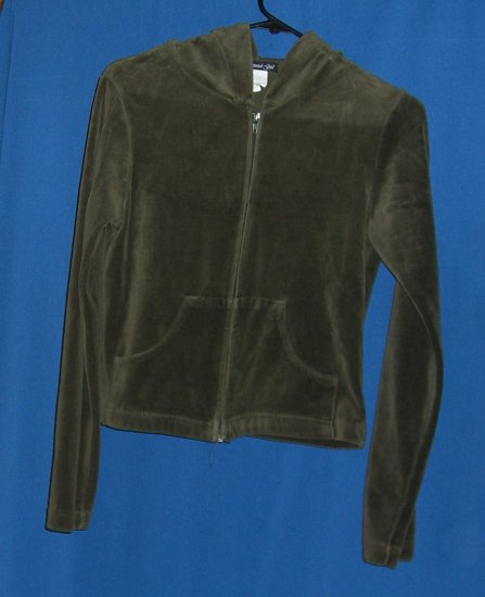 Material Girl  Hooded Zipper Sweatshirt