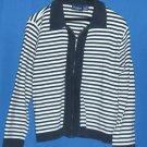 Liz Claiborne Womens Zipup Knitted Sweater