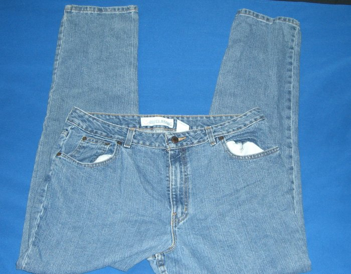 Faded Glory Classic Denim Jeans New No Tags