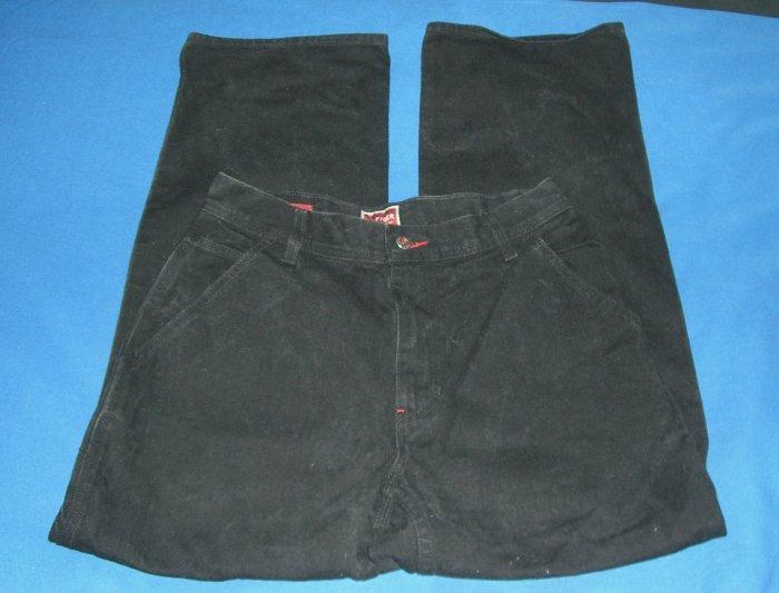 Red Label Hilfiger Black Denim Carpenter Fit NWOT