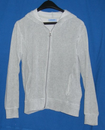 Pacer by Karen Scott Gray Zip Up Hooded Sweater