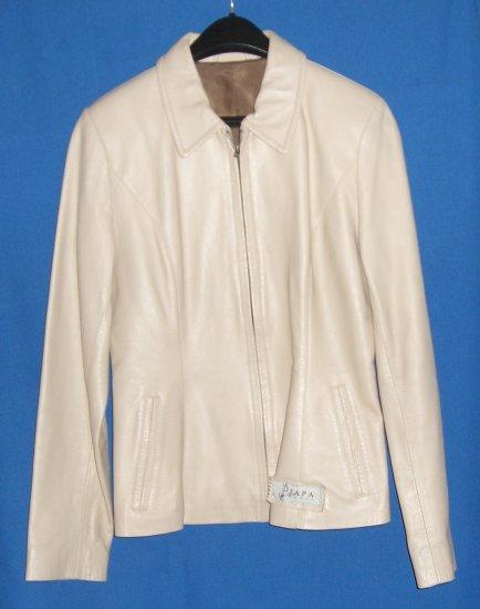 Japa Paris Fine Soft Leather Tan Womans Jacket