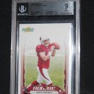 Matt Leinhart Graded Score 2006 Rookie Card Graded 9 Mint