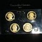 Estate Lot 2007 Presidential Dollar $1 Coin Proof Set 4 Coins