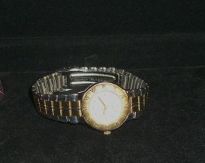 Jaclyn Smith Designer Two Tone Wristwatch Pre-Owned