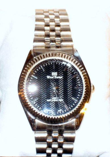 Mark Naimer Model# 5212G Mens Stainless Steel Wrist Watch