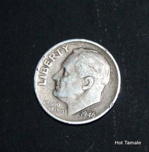 1946-S Roosevelt Dime Silver XF