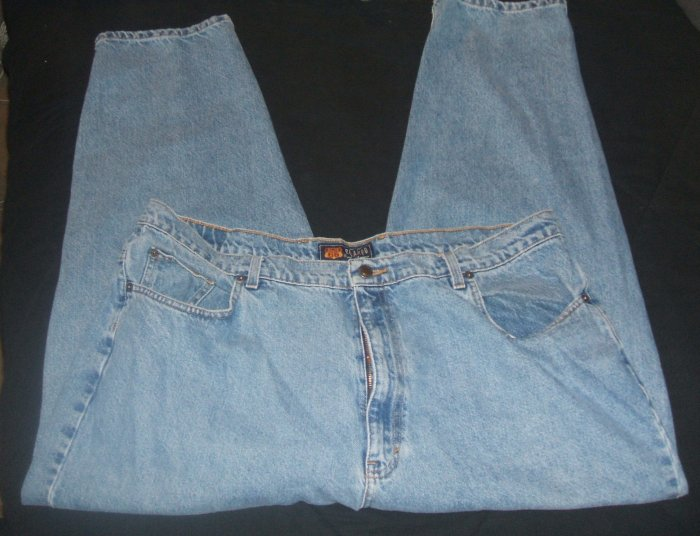 Route 66 Relaxed Fit Mens Blue Jeans pre-owned