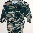 Camo. Short Sleeve Thermal Shirt NWOT