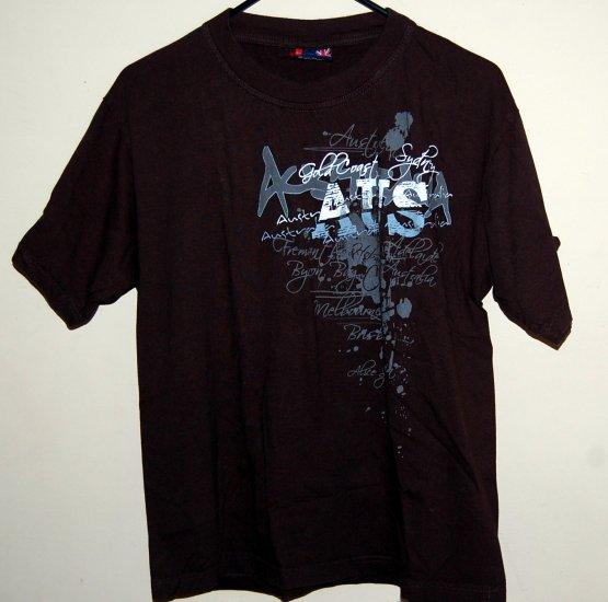 Mens Australia Gold Coast T-Shirt Pre-washed
