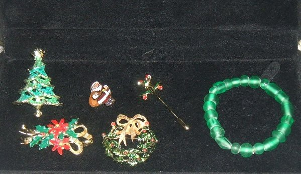 Christmas Jewelry Combo Set 6pc