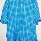 Nautica Jeans Company Mens Short Sleeve Button up Shirt XXL
