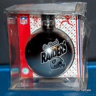Oakland Raiders  Christmas Ornament New in Box