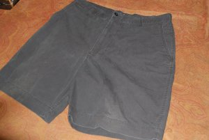 Black Pre-Owned ROUTE 66 MENS OTTON SHORTS