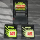 TYCO V.8 CHARGER & TWO 4.8V PACK BATTERIES PRE-OWNED